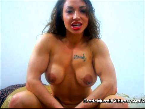 cover video big titties and massive muscles bulging out of mini dress