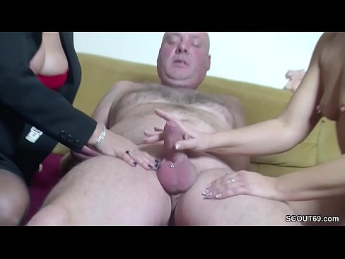 cover video real german  couple in female casting with big tit milf