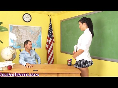 cover video school girl jelena jensen gets facial for extra credit