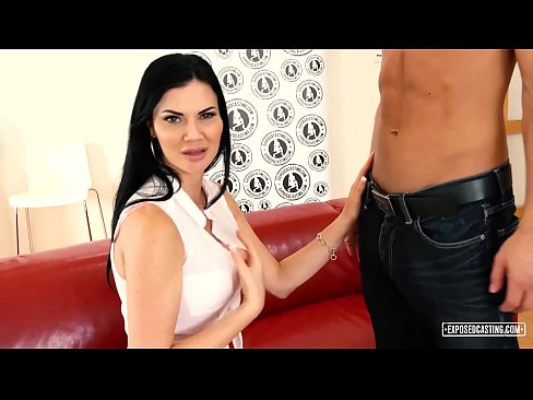 cover video exposed casting   british milf jasmine jae banged in mmf threesome audition