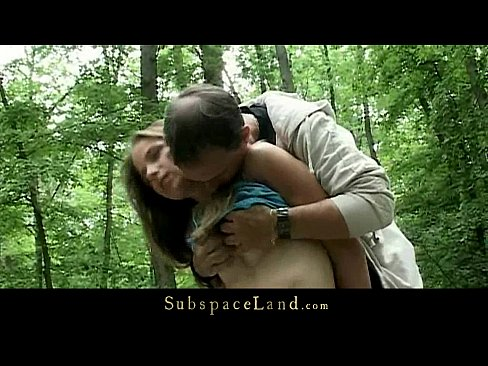 cover video claudie tied up in the forest and fucked